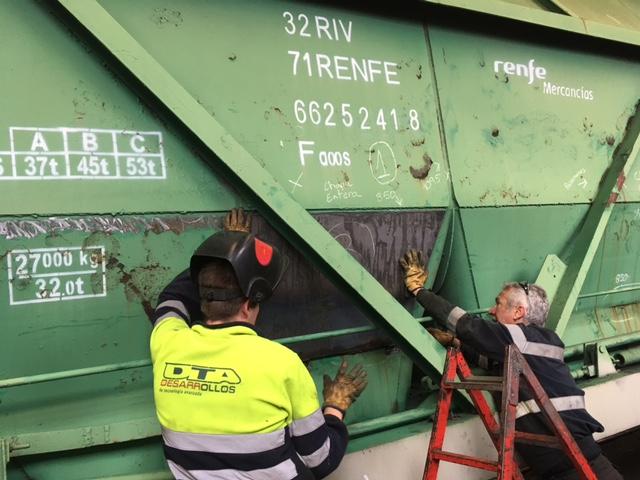 Reparación Vagones en BM Tarragona
