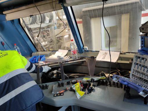 ERTMS 599 y Locomotoras 252 para ALSTOM